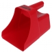 3 Quart Red Feed Scoop